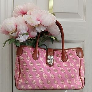 Dooney & Bourke Signature Fabric Handbag